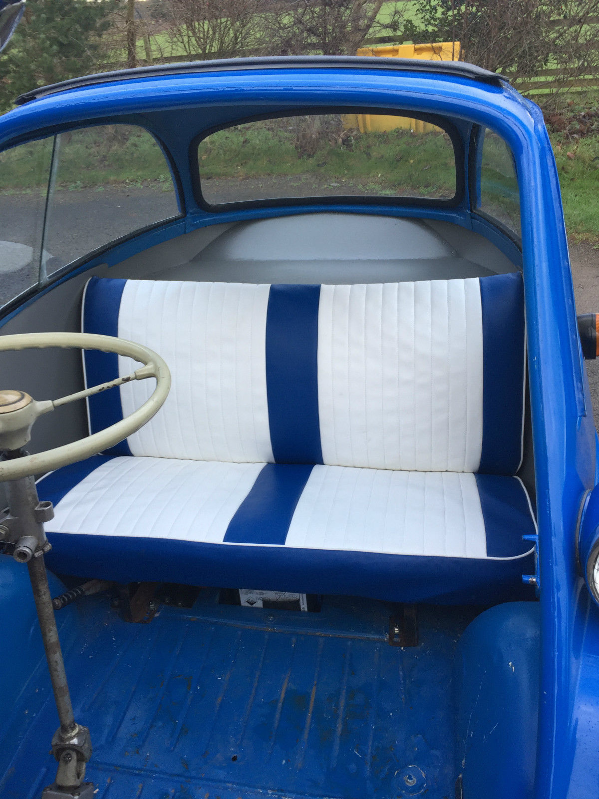 Blue seat Cover